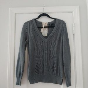 Sz S Gray Banana Republic Sweater EUC